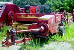 Baler-Square For Sale 1987 New Holland 326