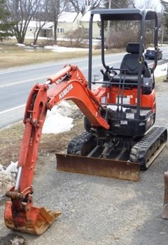 Excavator-Track For Sale 2014 Kubota U17VR1