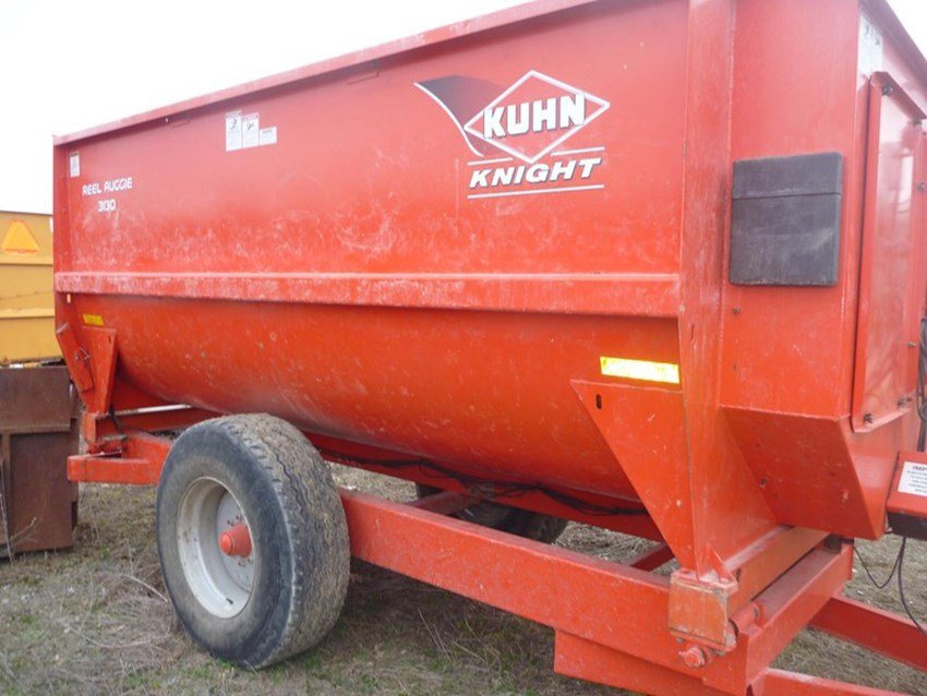 2013 Knight 3130TR TMR Mixer For Sale » Columbia Tractor Inc