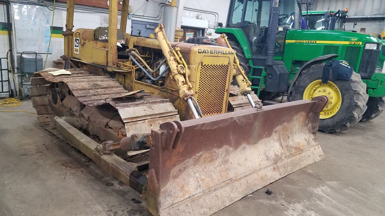 Caterpillar D4D Dozer For Sale