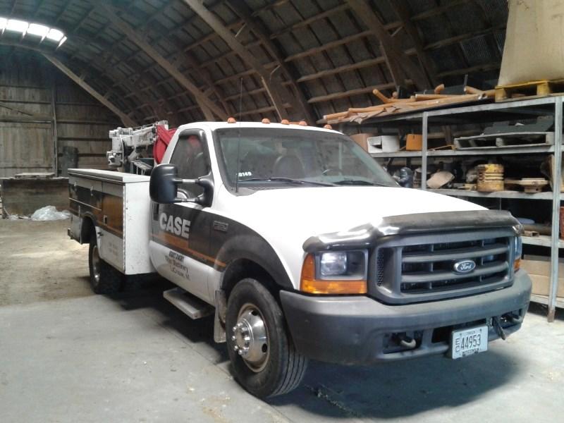 1999 Ford F350, 315533 Mi, Welder, Man Outriggers, Crane Camion de Servicios a la venta