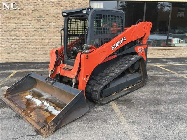 2015 Kubota SVL902HFC Skid Steer-Track For Sale