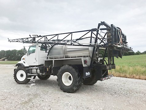 2008 Stahly Sterling Floater/High Clearance Spreader For Sale