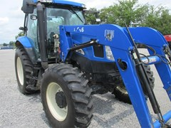 Tractor For Sale 2005 New Holland TS115A , 115 HP