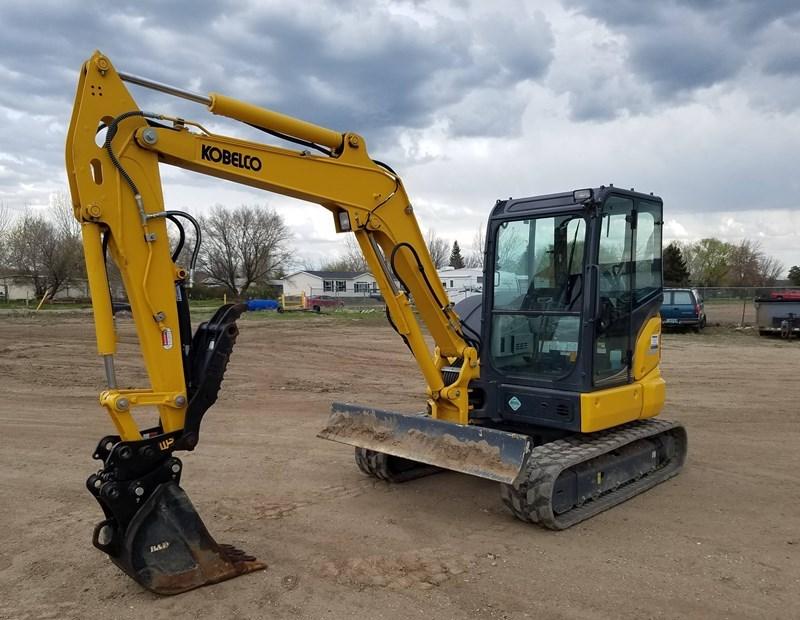 2018 Kobelco SK55SRX-6E Excavator Mini For Sale