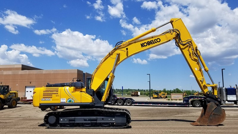 2018 Kobelco SK350LC-10 Excavator For Sale
