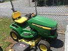 Riding Mower For Sale:  2010 John Deere X360 , 25 HP