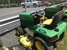 Riding Mower For Sale:  1993 John Deere 425 , 20 HP