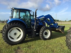 Tractor For Sale 2015 New Holland TS6.130 T4B , 130 HP
