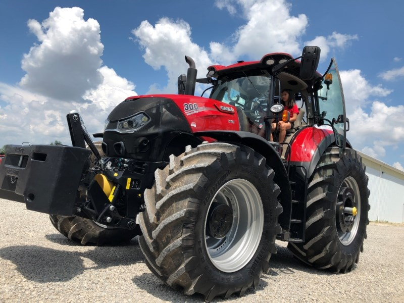 2018 Case IH Optum 300 Tractor For Sale