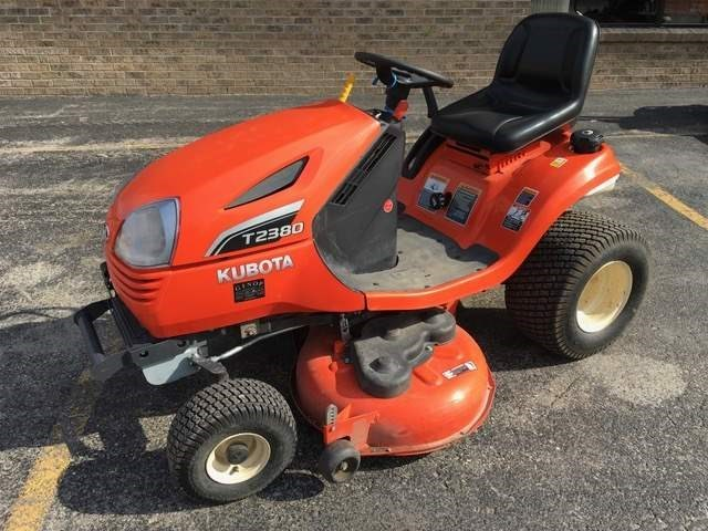 2015 Kubota T2380A248 Riding Mower For Sale