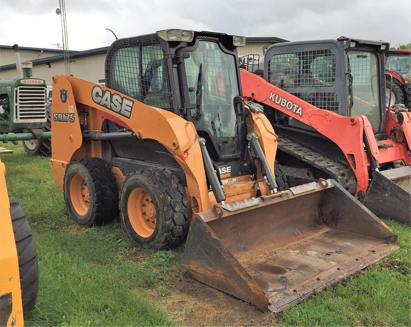 2011 Case SR175 Skid Steer For Sale