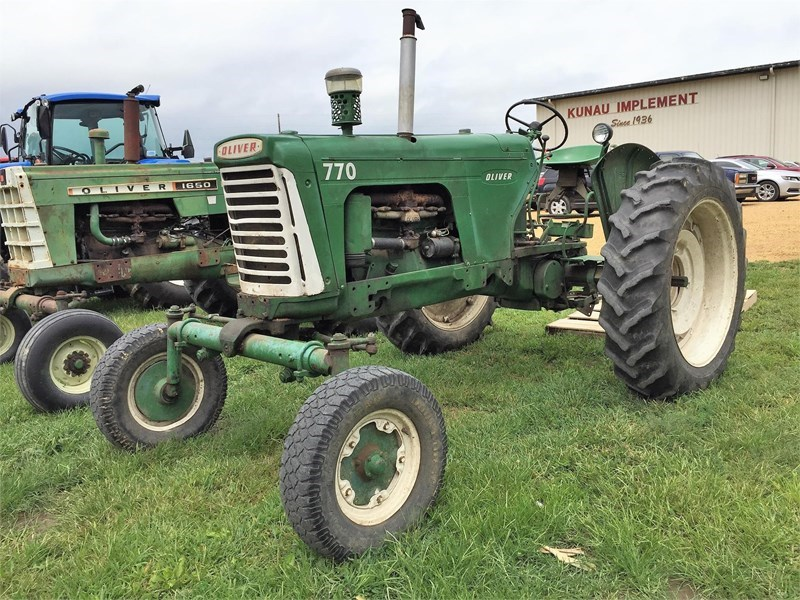 Oliver 770 Tractor For Sale