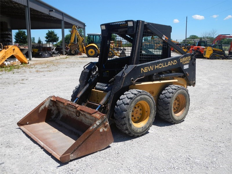 1999 New Holland LX665 Skid Steer