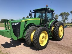 Tractor - Row Crop For Sale 2016 John Deere 8370R , 370 HP