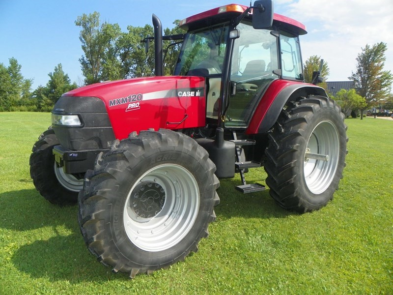 2007 Case IH MXM120 PRO Tractor For Sale