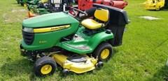 Riding Mower For Sale:  2012 John Deere X300 , 18 HP