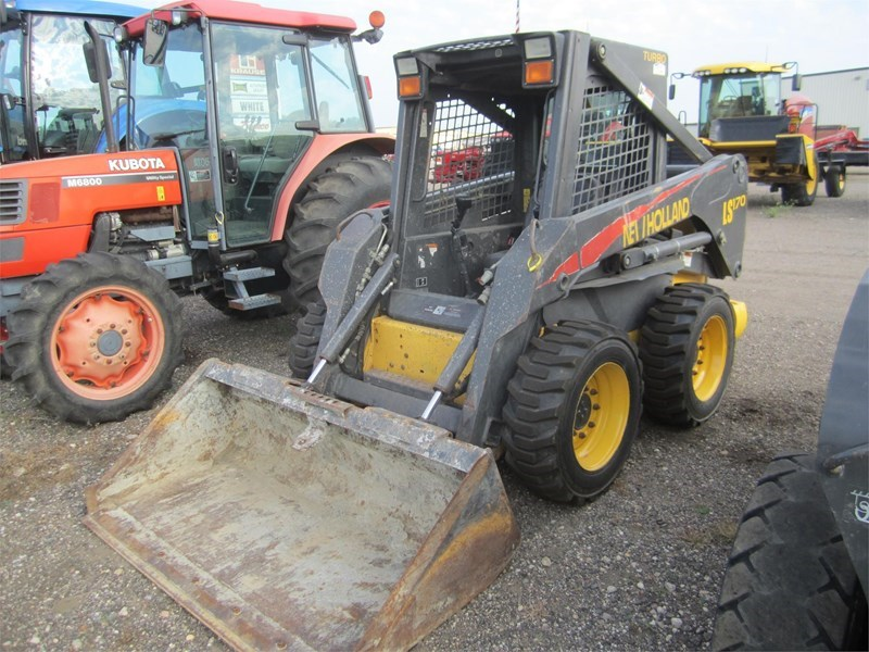 2005 New Holland LS170 Skid Steer For Sale