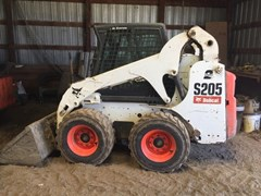 Skid Steer For Sale:  2010 Bobcat S205
