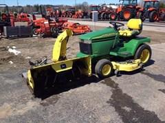 Riding Mower For Sale:  2001 John Deere 325 , 18 HP