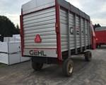 Forage Box-Wagon Mounted For Sale: Gehl BU980