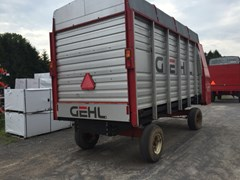 Forage Box-Wagon Mounted For Sale Gehl BU980