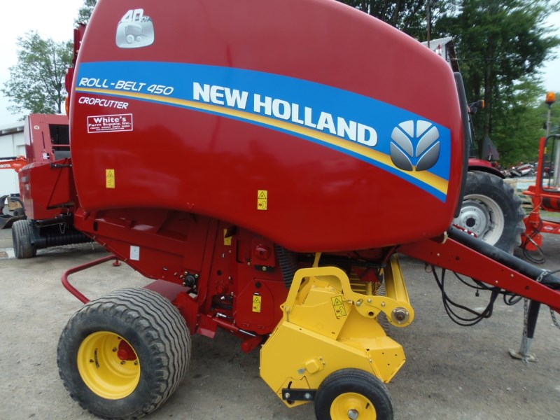 New Holland 450 Baler-Round For Sale