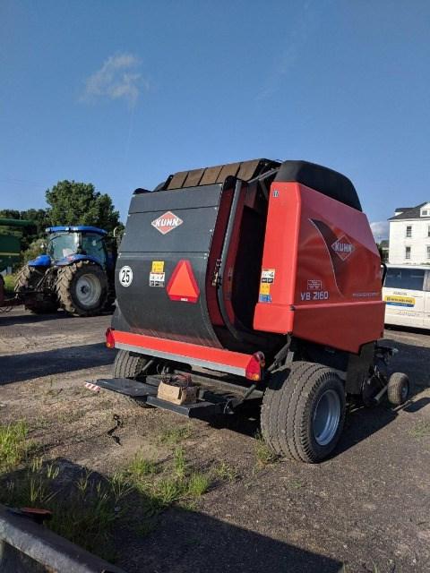 Kuhn VB2160 Baler-Round For Sale