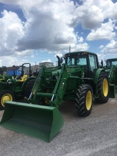 Tractor For Sale 2014 John Deere 6125M Cab , 125 HP