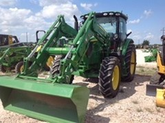 Tractor For Sale 2015 John Deere 6130R Cab