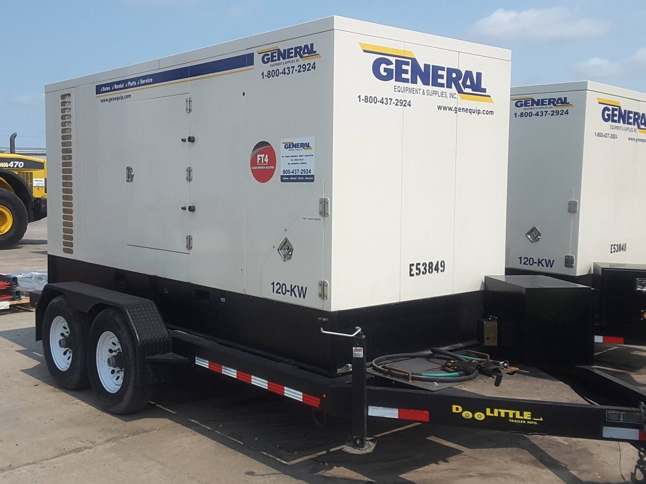 2016 Other 120 KW Generator & Power Unit For Sale
