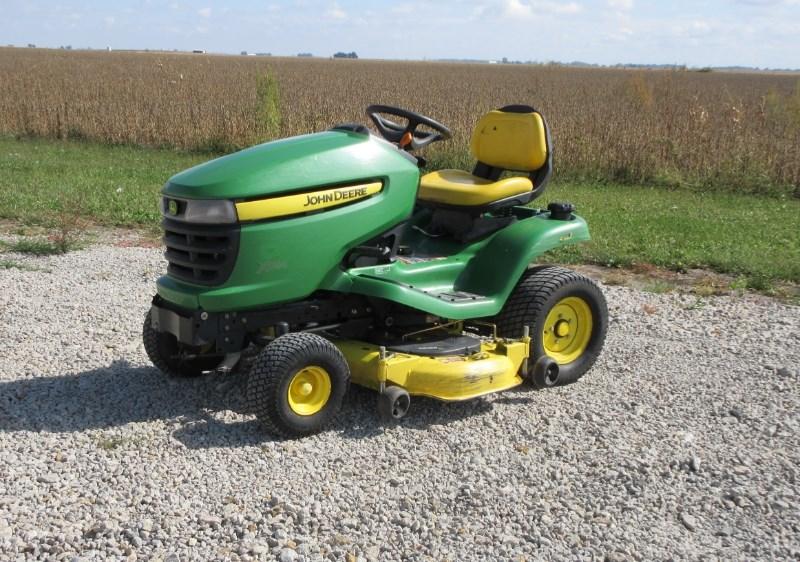 2011 John Deere X324 Riding Mower For Sale