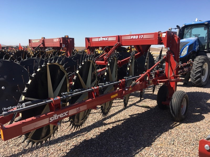 Sitrex PRO 17 Hay Rake-Unitized V Wheel For Sale