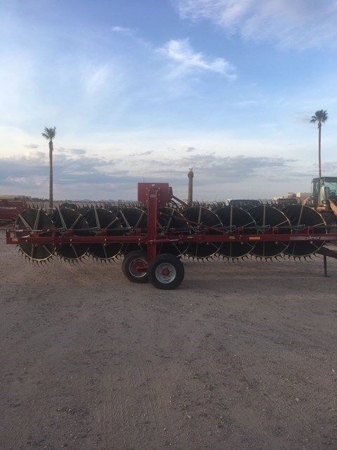 2016 Sitrex PRO 17 Hay Rake-Unitized V Wheel For Sale