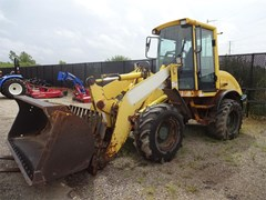 Wheel Loader For Sale 2001 New Holland LW80B