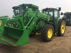 Tractor For Sale 2016 John Deere 6155M , 155 HP