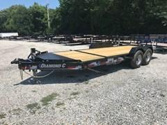 Equipment Trailer For Sale 2019 Diamond C 48HDTLP-20X82