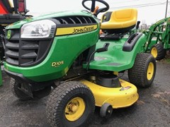 Lawn Mower For Sale 2013 John Deere D105 , 17 HP