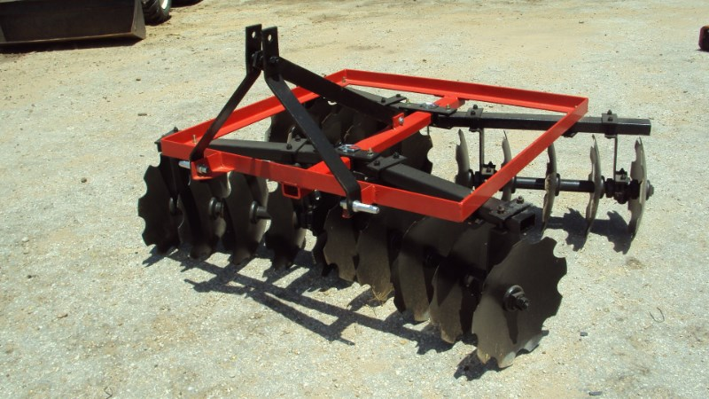 Atlas Heavy duty 3pt 6' tandem disc harrow Disk Harrow For Sale