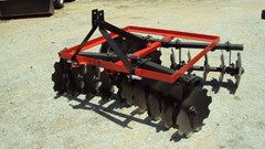 Disk Harrow For Sale:  Atlas Heavy duty 3pt 6' tandem disc harrow