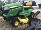 Riding Mower For Sale:  2016 John Deere X350 , 18 HP