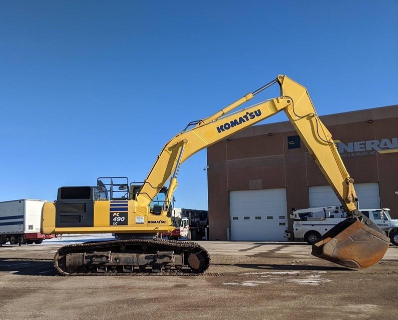 2016 Komatsu PC490LC-11 Excavator For Sale