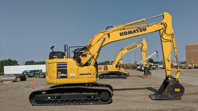 2018 Komatsu PC238USLC-11 Excavator For Sale