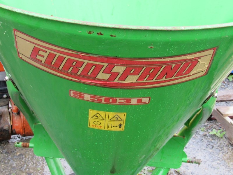 2003 Eurospand 500 Fertilizer Spreader For Sale
