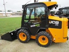 Skid Steer For Sale 2017 JCB 205 NEW GENERATION  side door entry , 62 HP