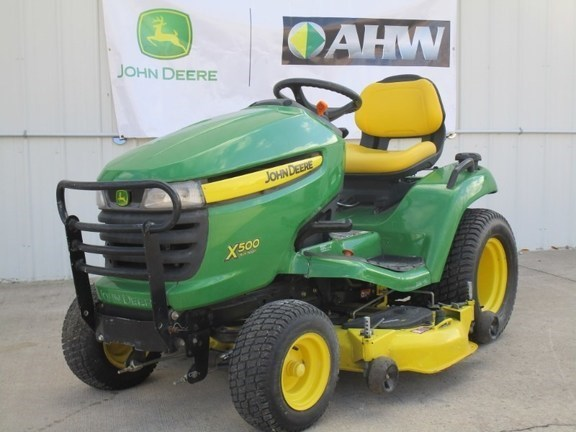 2013 John Deere X500 Riding Mower For Sale