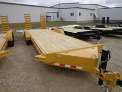 High Flat Deck Semi Trailer For Sale 2017 Midsota Manufacturing, Inc. ST-24--8K axles--Yellow