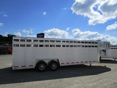 Stock Trailer For Sale 2018 Custom Classic Trailers 24' GN