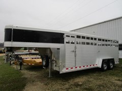 Stock Trailer For Sale 2018 Custom Classic Trailers 20' GN