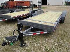 High Flat Deck Semi Trailer For Sale 2018 Midsota Manufacturing, Inc. TB-18-tilt bed-7K--Gray